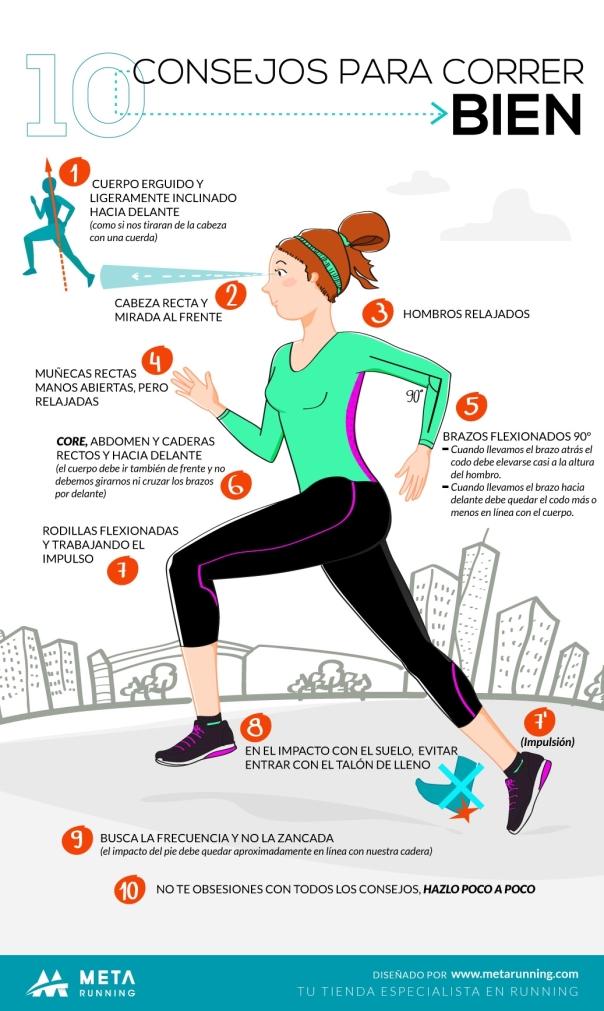10 consejos para correr bien